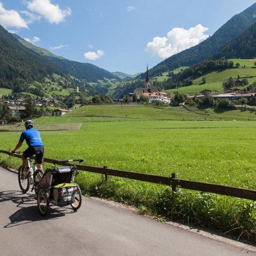 Fahrradweg Passerdamm Passeiertal
