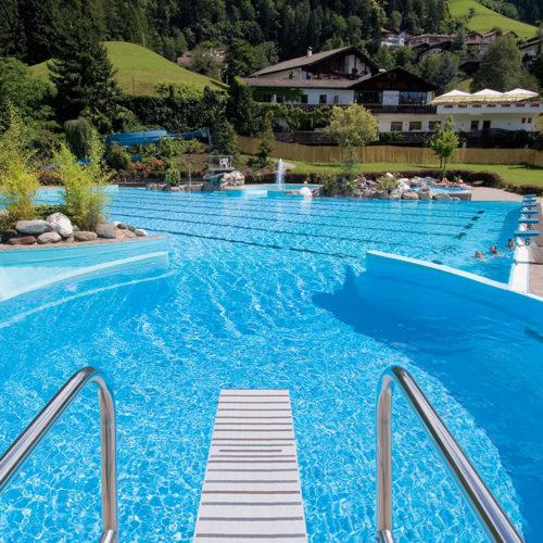 Schwimmbad St-Leonhard Passeiertal