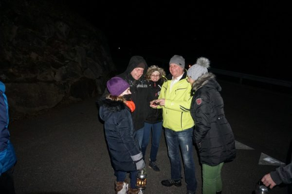 Laternenwanderung Silvesterwoche Familienzeit
