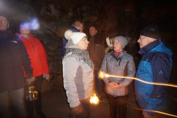 Laternenwanderung  Silvesterwoche