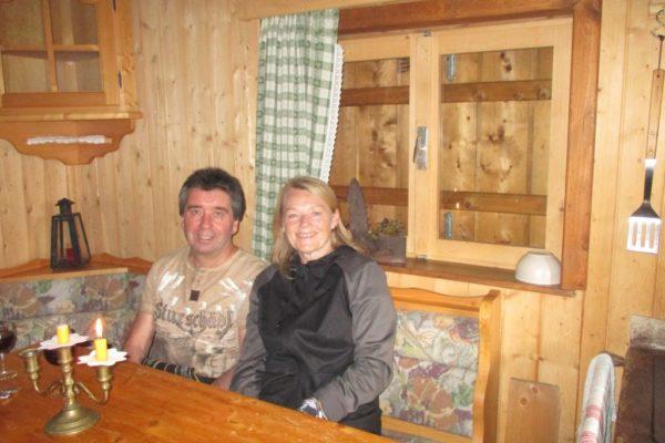 Gemütlich In die Mahder In der Hütte