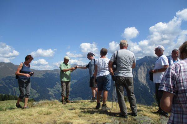 Hitzenbichl Aussicht In die Mahder Natur Wandern