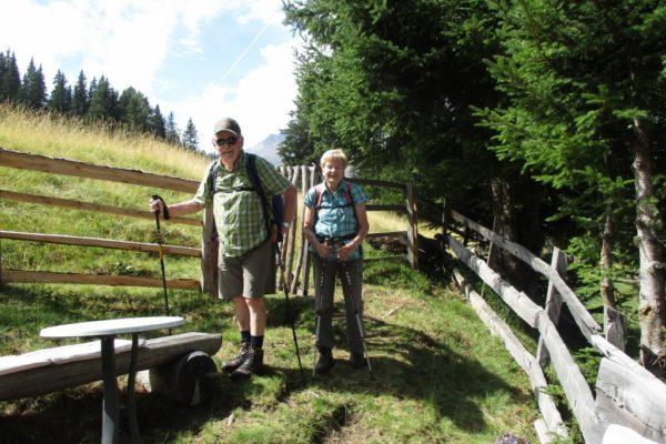 Natur Wandern Genuss In die Mahder Stammgäste