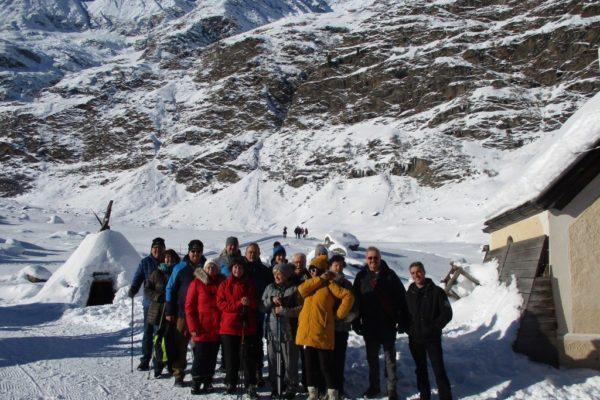 Silvesterwoche Winterwandern Stammgäste