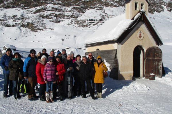 Stammgäste Winterwandern Silvesterwoche